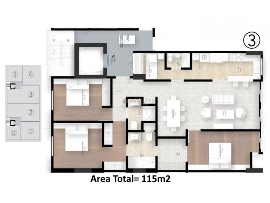 lphs 024 11 18 3 vendo penthouse en evaristo