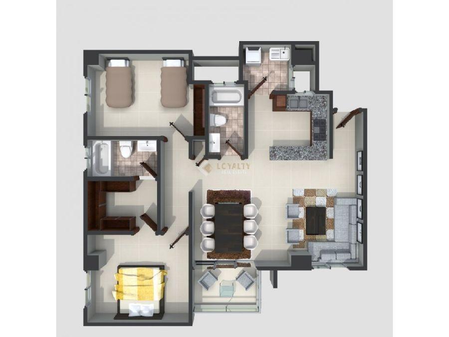 las 002 01 19 2 vendo apartamento en ens ozama
