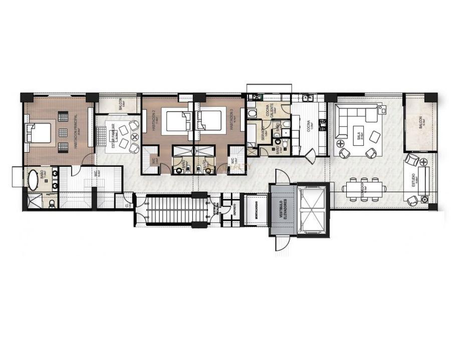 las 019 11 18 1 lujoso apartamento en piantini