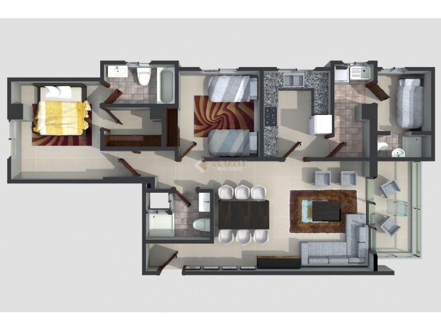 las 002 01 19 3 vendo apartamento en ens ozama