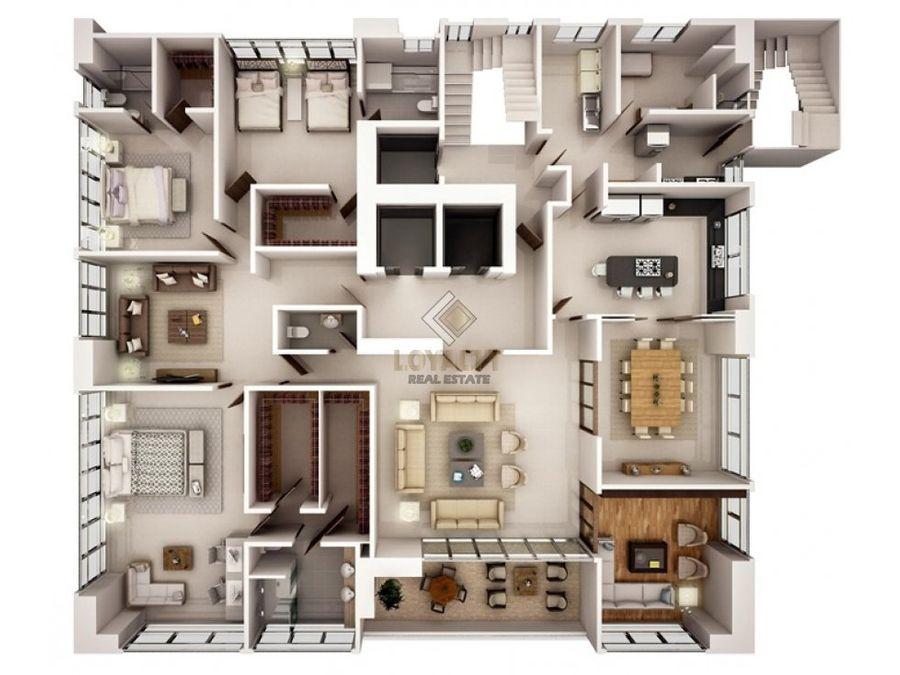 las 003 04 19 1 apartamento en la ave anacaona