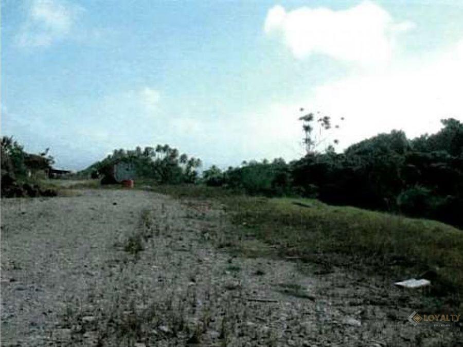 lgs 065 07 18 amplio terreno turistico en samana