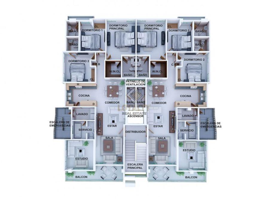 las 005 03 19 1 vende penthouse en urb real
