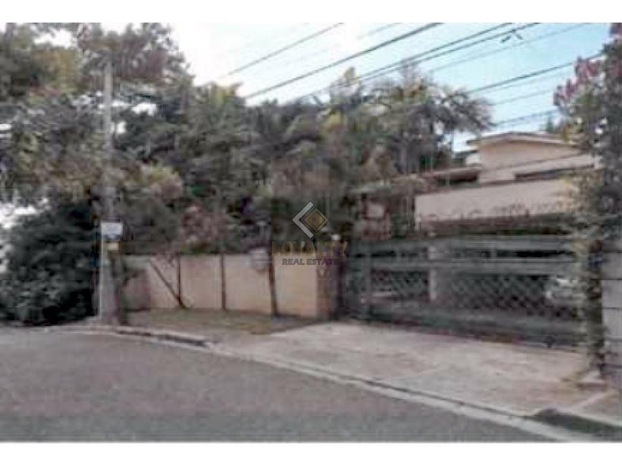 lhs 003 03 19 vendo casa en altos de arroyo hondo