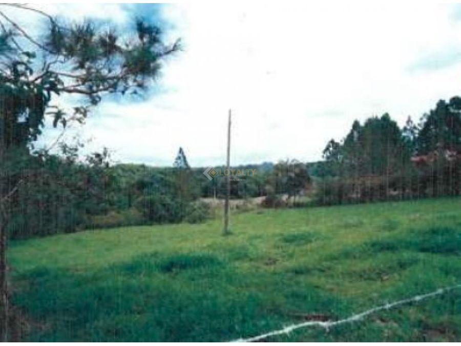 lgs 062 07 18 vendo terreno en jarabacoa