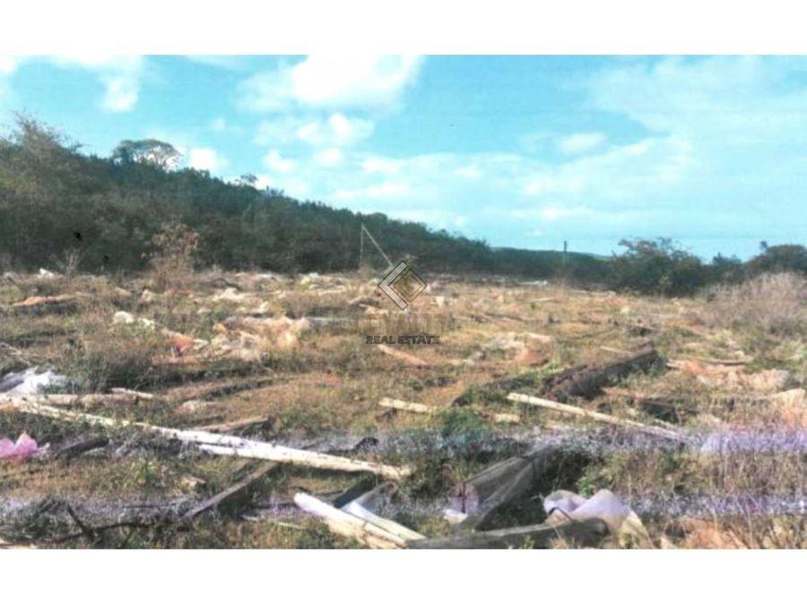 lgs 076 08 20 vendo amplio terreno en san cristobal