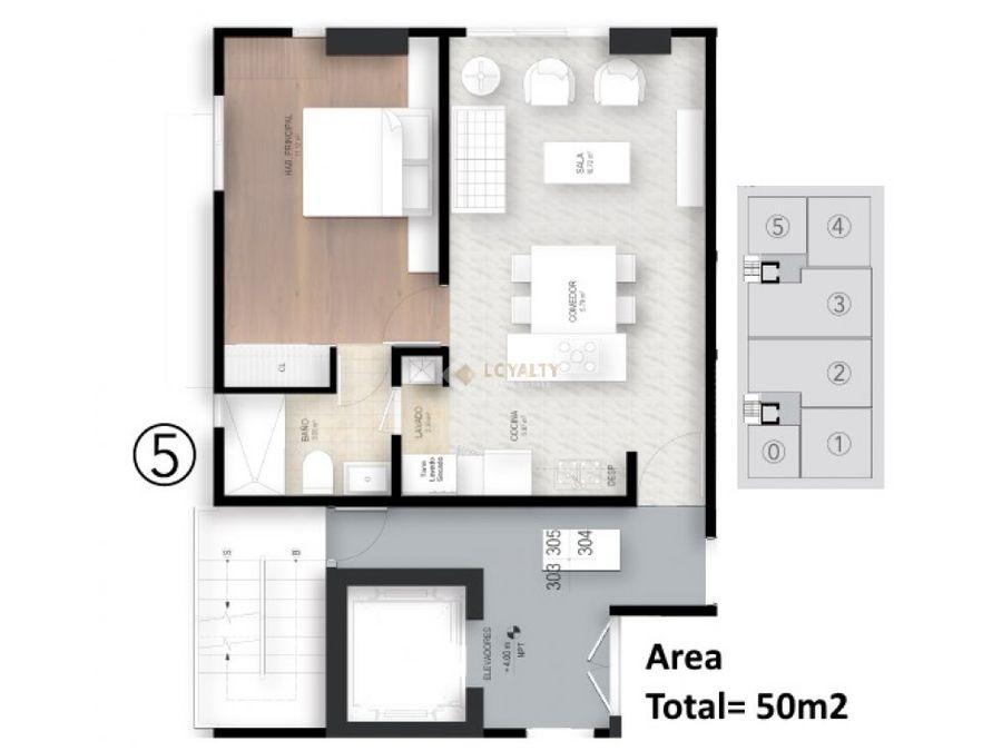 las 024 11 18 apartamento en evaristo morales