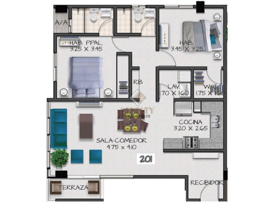 las 008 03 19 vendo apartamento en arroyo hondo