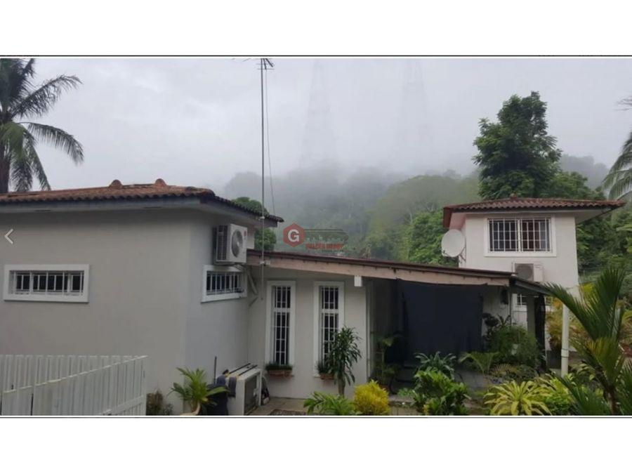casa en paraiso ancon area revertida 600m2 terreno