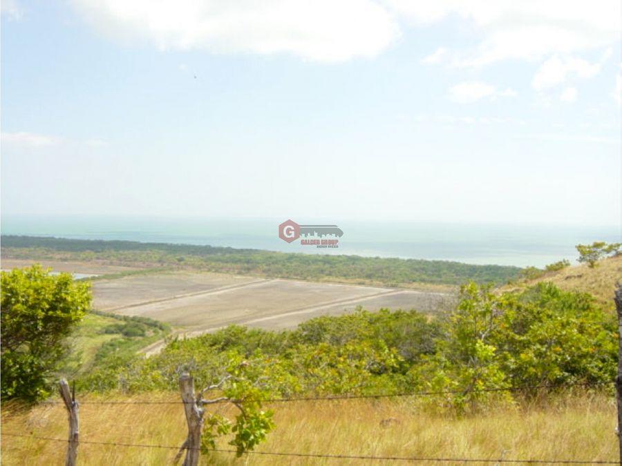 oportunidad de inversion 72 hectareas vista al mar