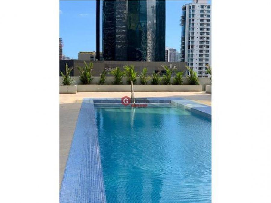 downtown obarrio 1 recamara con opcion a 2 linea blanca 46 m2