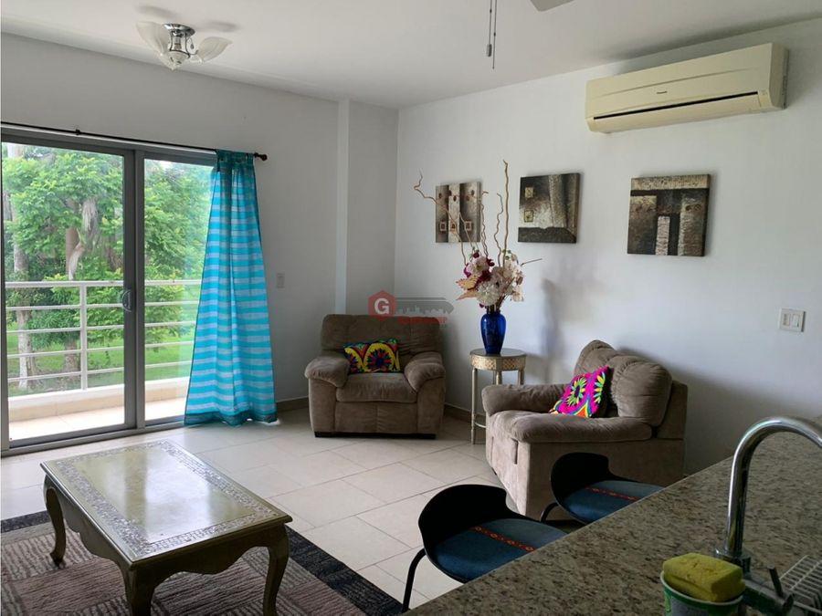 apartamento amoblado ph soleo 1 hab 15 bans 89m2