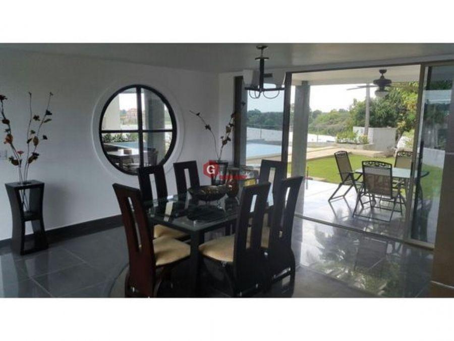 casa de playa con piscina bijao rio hato 5 recamaras 2300 m2
