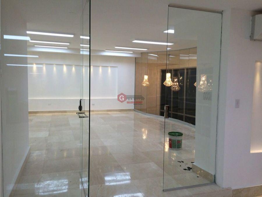 oficina san francisco punta pacifica 270 m2