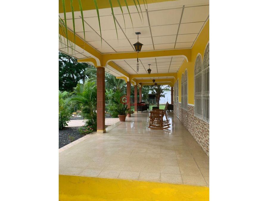 casa en venta las tablas el cocal 4 habitaciones 962 m2