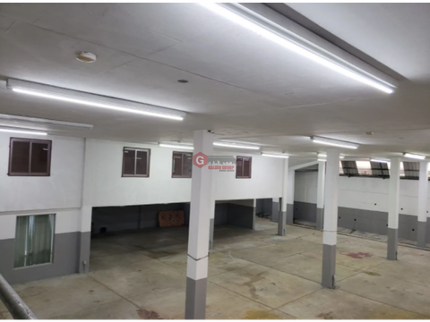 galera con bodega oficinas mezzanine rio abajo 1700 m2