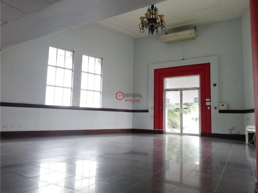 edificio completo para local u oficinas balboa ancon 1513 m2
