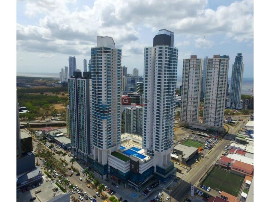 oficina costa del este ph top towers amoblada 14838 m2