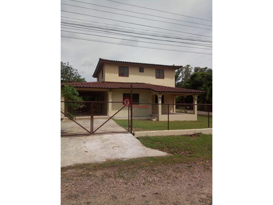 penonome barriada villa inmaculada 3 habitaciones 600 m2