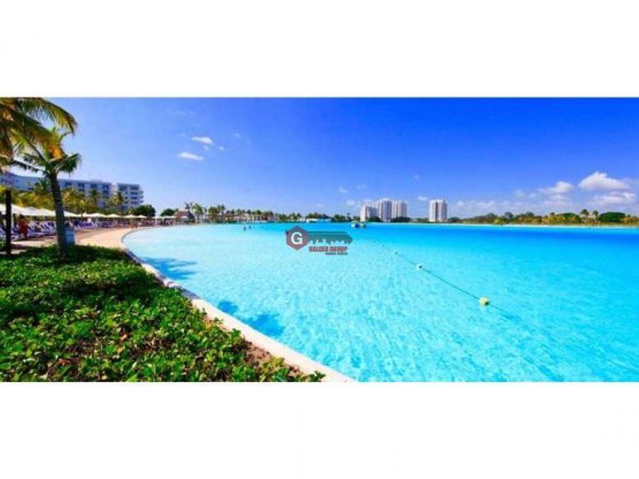 ganga apartamento amoblado en playa blanca 77m2 playa artificial
