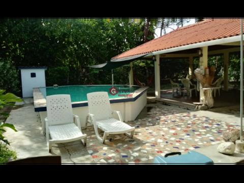 casa de playa gorgona piscina y rancho 5 recamaras 1200 m2