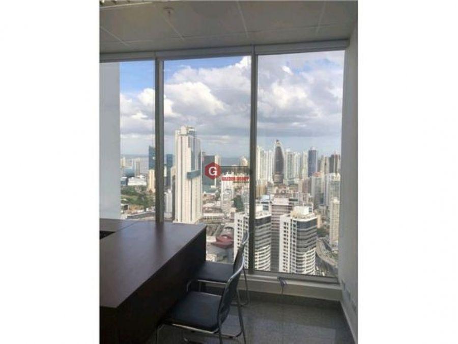 oficina torre bicsa av balboa amoblada