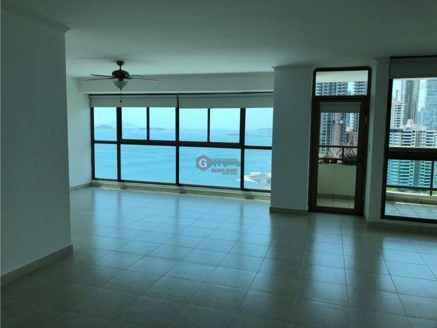 punta pacifica ph ocean park 255m2 linea blanca vista al mar