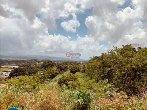 se vende terreno las cumbres las lajas negociable 7190 m2