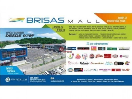 brisas del mall disponibles planta alta