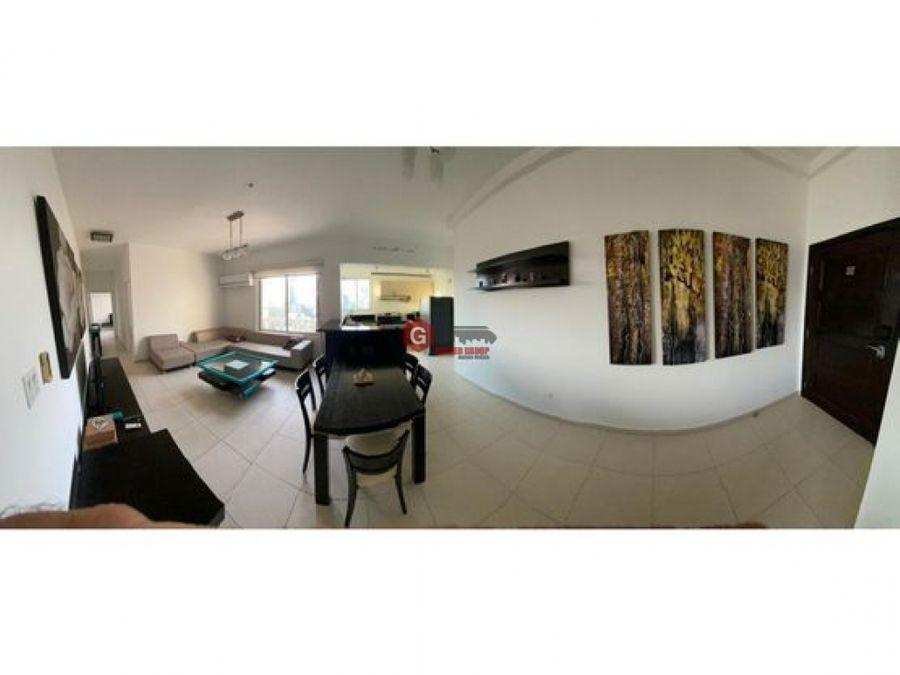 ph vista marina avenida balboa 2 recamaras amoblado 120 m2