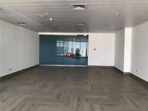 oficina torre bicsa avenida balboa vista al mar 165 m2