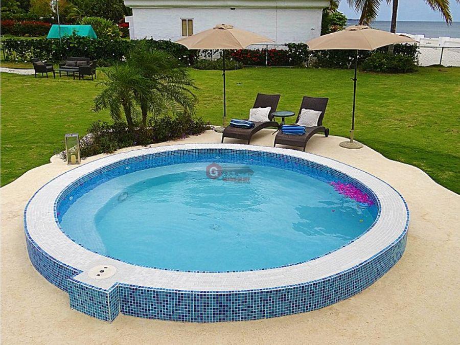 casa de playa rio hato quintas sol y mar 3 recamaras 6500 m2