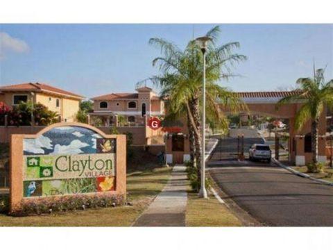 clayton village ancon 3 recamaras linea blanca 650 m2