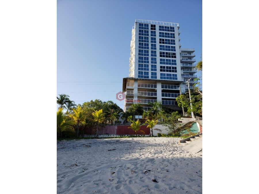 apartamento frente a la playa amoblado