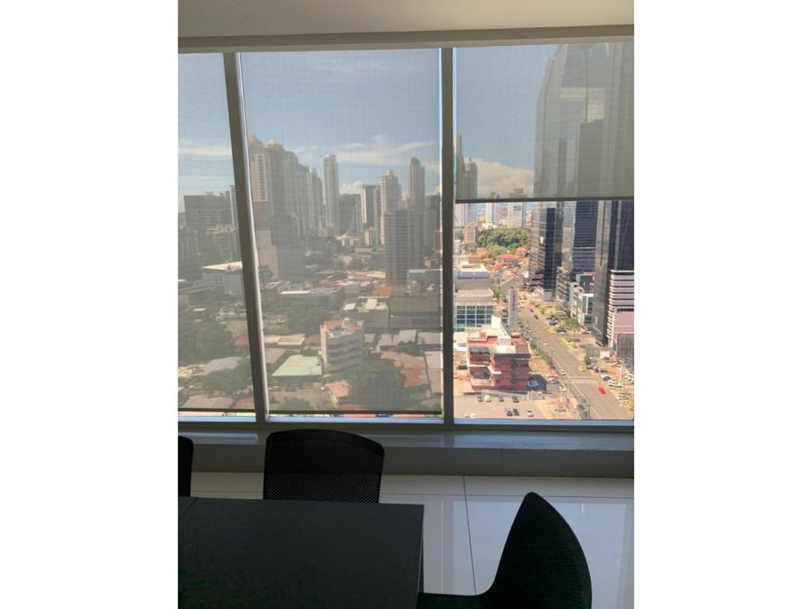 oficina ph panama business hub tower calle 50 amoblado 179 m2