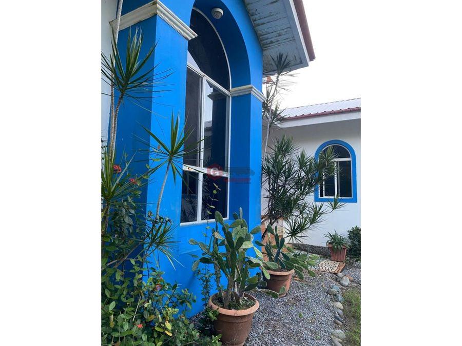 casa de playa las lajas 4 habitaciones negociable 2316 m2