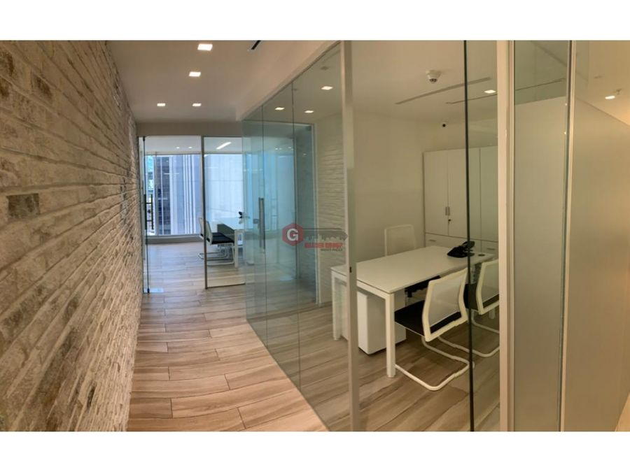 oficina ph panama business hub tower calle 50 amoblado 179 m2