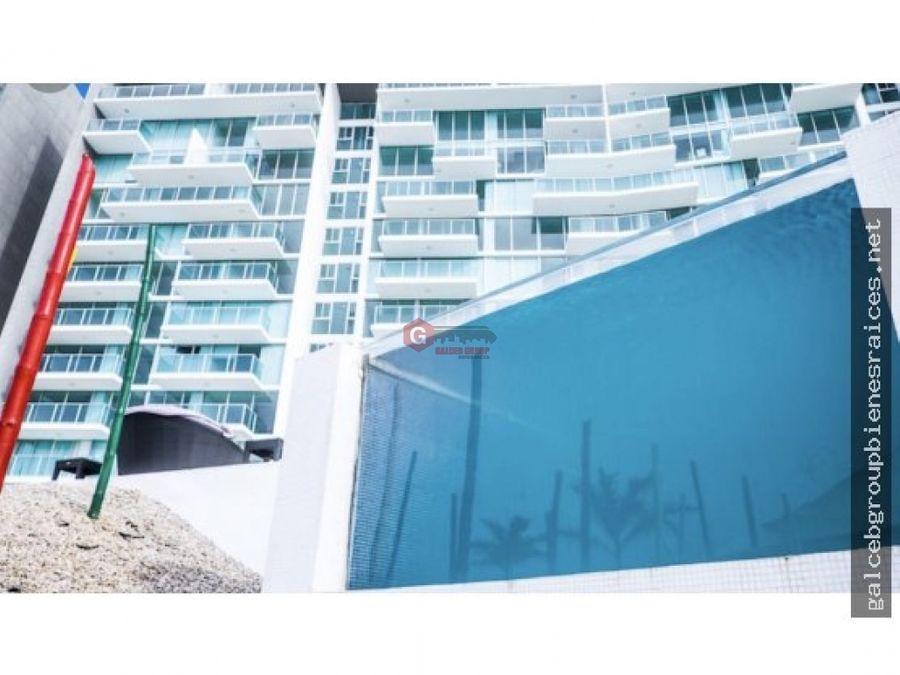 apartamento en bala beach frente al mar colon