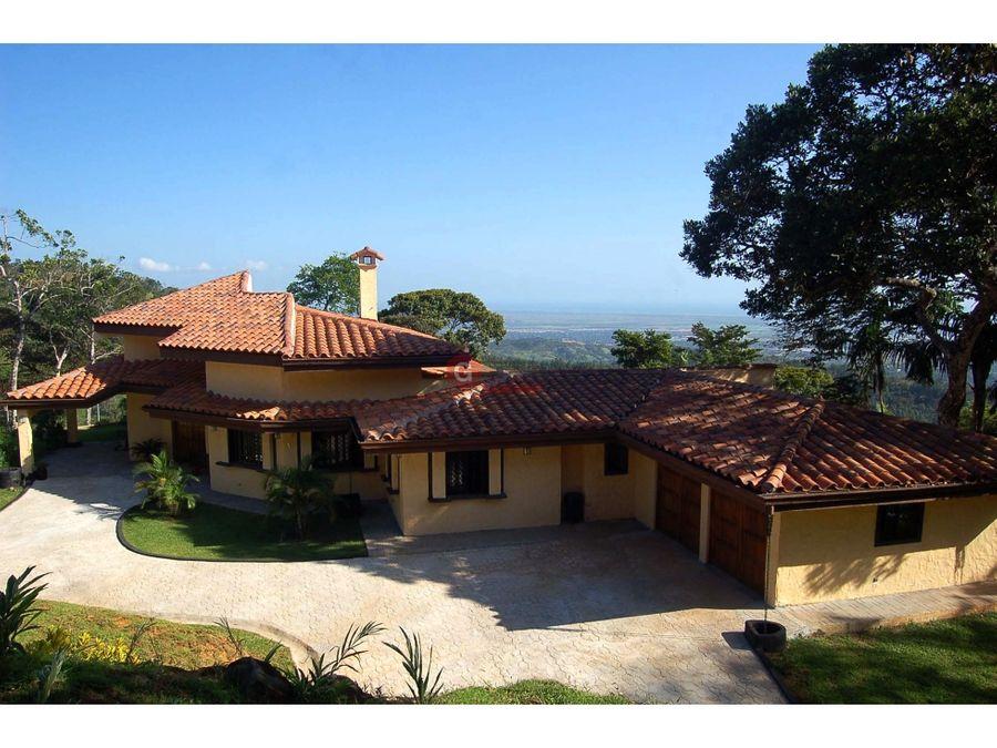 fabulosa villa las vistas de cerro azul negociable