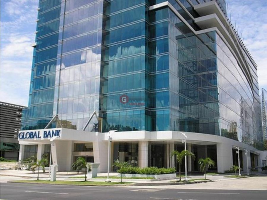 oficina bella vista calle 50 banco global plaza 104 m2