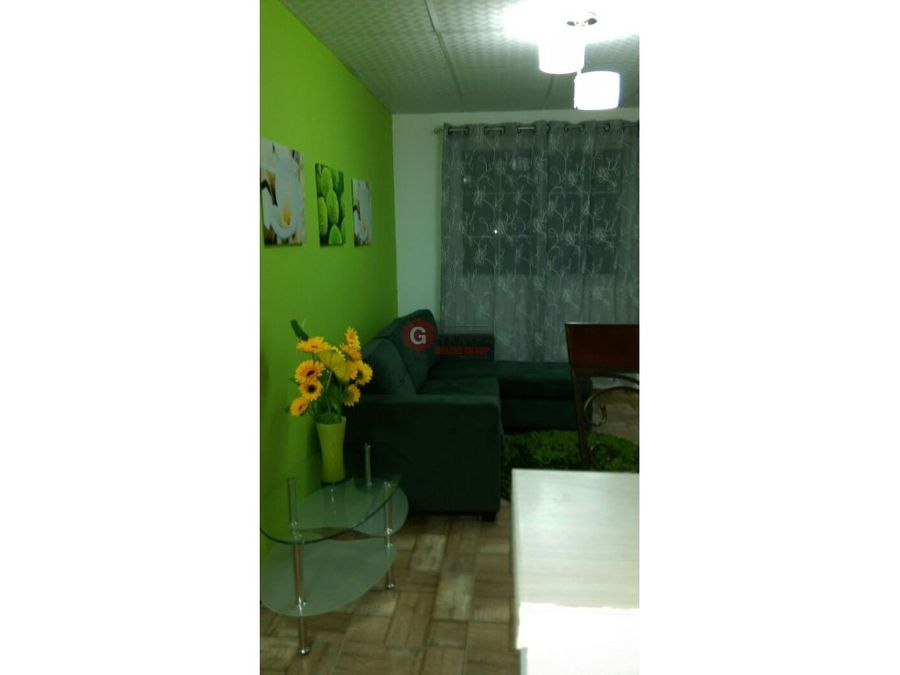 apartamento en clayton 1 habit full amoblado