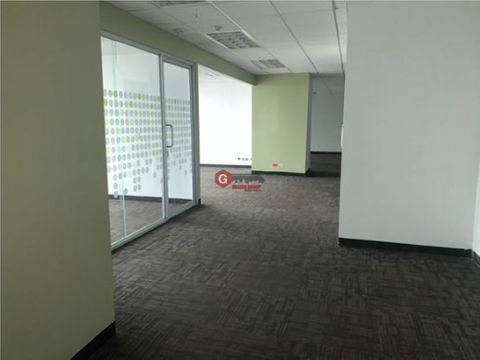 alquiler oficina tower bank 200m2 amoblada