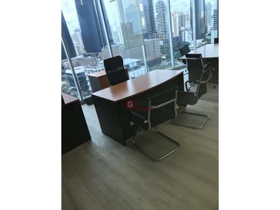 oficina bella vista calle 50 banco global plaza 104 m2