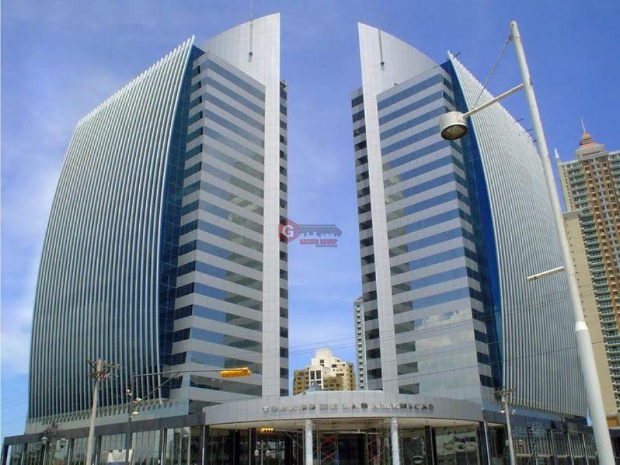 oficina torre de las americas punta pacifica 155 m2