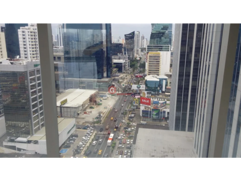 oficina para estrenar bella vista calle 50 torre pbh 622 m2