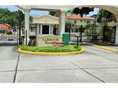 casa en alquiler albrook gardens clayton 3 recamaras 400 m2