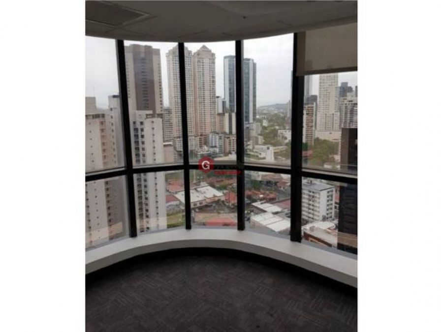 alquilo oficina torre banco general calle 50 200m2