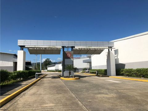 terreno en parque industrial tocumen 2500 m2