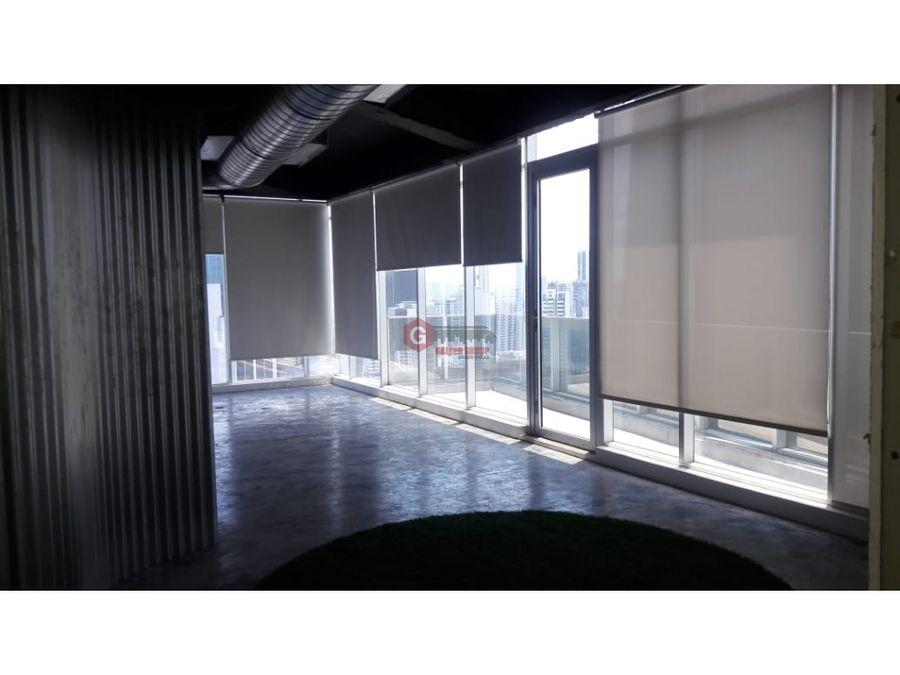 oficina revolution f f tower calle 50 156m2 negociable