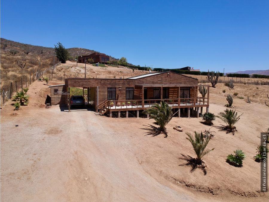illapel casa amoblada parcela condominio las acacias gran vista